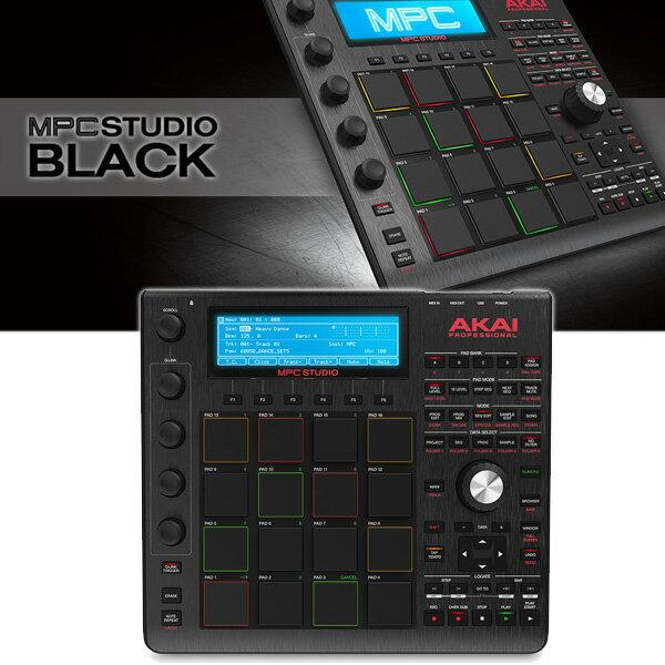 Akai(アカイ) MPC STUDIO BLACK 【MPC SOFTWARE 付属】 サンプラー / 音楽制作システム【納期未定】