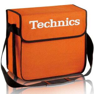 Technics(テクニクス) / DJ Bag (Orange) 【約60枚レコード収納】 DJレコードバッグ