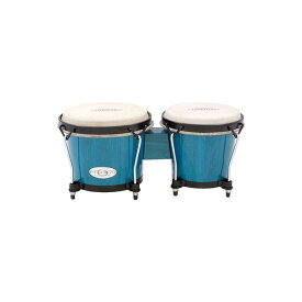 "TOCA(トカ) / Synergy Wood Bongos - Blue 6+6-3/4"" [2100BB] ボンゴ"