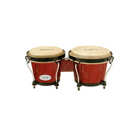 """TOCA(トカ) / Synergy Wood Bongos - Red 6+6-3/4"""" [2100RR] ボンゴ"""