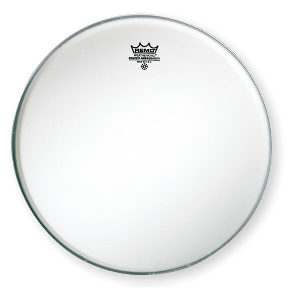 REMO(レモ) / 114BA (14インチ) Coated Ambassador コーテッド・アンバサダー - スネア用ドラムヘッドの定番!-