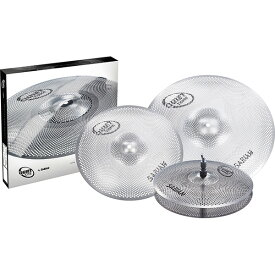 "【20日限定楽天カードでP14倍】SABIAN(セイビアン) / SAB-QTPC502 [QUIETTONE Cymbal Practice Kit (13"" Hats / 14"" Crash / 18"" Crash Ride)]"