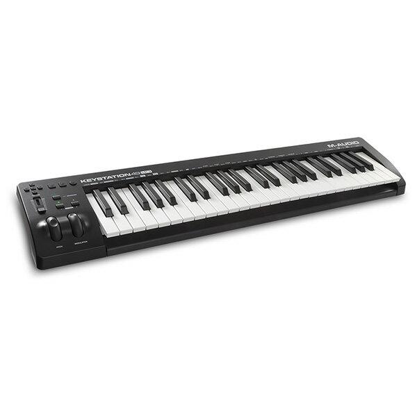 M-Audio(エム・オーディオ) / Keystation 49 MK3 (49鍵盤) - MIDIキーボード ・ コントローラー - 【Pro Tools First M-Audio Edition、Ableton Live Lite付属】