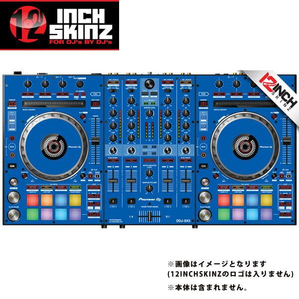 12inch SKINZ / Pioneer DDJ-SX3 SKINZ(Blue) 【DDJ-SX3用スキン】