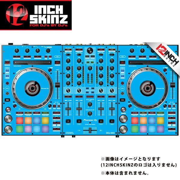 12inch SKINZ / Pioneer DDJ-SX3 SKINZ(Lite Blue) 【DDJ-SX3用スキン】