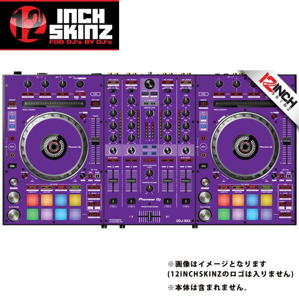 12inch SKINZ / Pioneer DDJ-SX3 SKINZ(Purple) 【DDJ-SX3用スキン】