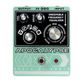 1大特典付 Death by Audio / APOCALYPSE 5タイプのワイルド・ファズ 《ギターエフェクター》 直輸入品 デスバイオーディオ