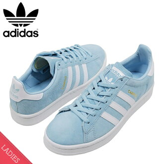 17095908aee miami records  Shoes BY9844 Rakuten mail order for the adidas Adidas CAMPUS  W SUEDE Lady s sneakers ICE BLUE campus ice blue sax suede leather shoes  woman ...