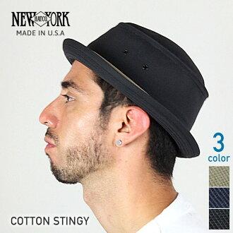 纽约帽子棉吝啬 (纽约帽子棉 スティンギー 棉猪肉饼帽子黑色男士女士帽子 #3061)