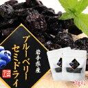 【1000円ポッキリ】ブルーベリーセミドライ20g×2袋【送料無料】岩手県遠野市産ブルーベリー使用 農薬不使用・砂糖不使用そのまま半乾…