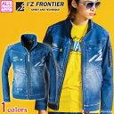 [11月中旬入荷先行予約]アイズフロンティア I'Z FRONTIER ニットデニムワークジャケット 5370D 2020年秋冬新作