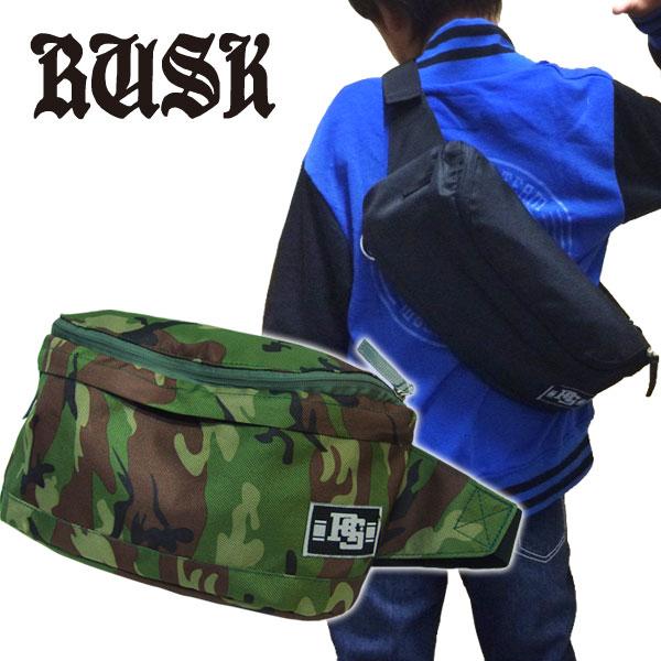 定番!!【RUSK/ラスク】2WAY ボディバッグ リュックサック デイバッグ バックパック 鞄 カバン ダンス≪フリーサイズ≫