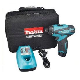【<あす楽>在庫限り】マキタ 充電式ドライバドリル 10.8V バッテリ・充電器 ソフトケース付 <DF030DWSP>
