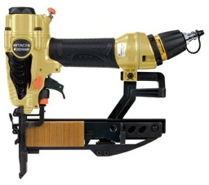 HiKOKI ハイコーキ(旧日立工機) 高圧フロア用タッカ ステープル38mm 幅4mm <N3804HMF> ケース付き セット品 【ホッチキス 電動工具 比較 ステープルガン 鋲打機 DIY ステープラー】