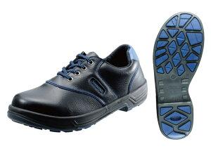 シモン(Simon) ライトシリーズ 安全靴 短靴 SL11-BL 黒/ブルー <23.5cm〜28.0cm> 【安全靴 蒸れない レディース 安い靴 寅壱 セーフティースニーカー安全靴 25.5 滑らない おしゃれ ランキング