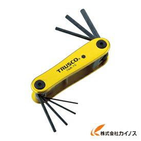 TRUSCO 六角棒レンチセット ナイフ式 TNR7S