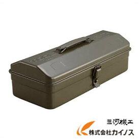 TRUSCO 山型工具箱 359X150X124 OD色 Y-350-OD