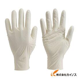 TRUSCO 使い捨て極薄手袋 100枚入 S ホワイト TGL-493S
