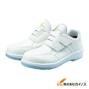 シモン 静電プロスニーカー 短靴 8818N白静電仕様 25.5cm 8818WS-25.5