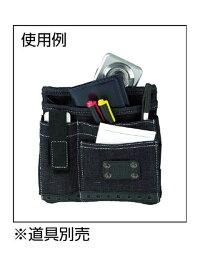 EDWIN(エドウイン)フラットケースワイド5ポケット黒カラビナ付<EDW-H210>