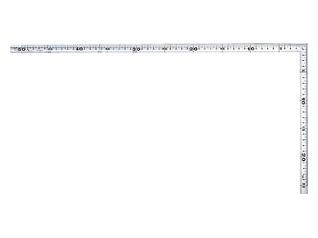 シンワ 曲尺 角厚 シルバー 30cm 表裏同目 メートル目盛 <10294>鉄工用 【矩尺 かねじゃく かね尺 サシガネ 差し金 直角 定規 名前 diy 建築 物差し 物差し 角厚 小型 使い方 鯨尺 スコヤ 新潟精機 角度 勾配 測り方 測る 直角定規】