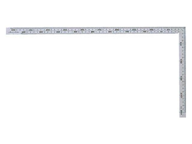 シンワ 曲尺 厚手広巾 シルバー 30cm 表裏同目 8段目盛 <10421> 【矩尺 かねじゃく かね尺 サシガネ 差し金 直角 定規 名前 diy 建築 物差し 物差し 角厚 小型 鯨尺 値段 スコヤ 新潟精機 角度 勾配 工具 測り方 測る 直角定規】