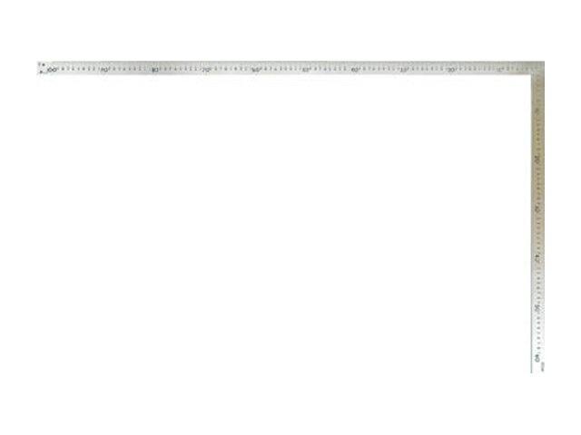 シンワ 曲尺 大金 普及型 ステン 1m×60cm 表裏同目 <63118> 【矩尺 かねじゃく かね尺 サシガネ 差し金 直角 定規 名前 diy 建築 物差し 物差し 角厚 小型 使い方 鯨尺 スコヤ 角度 勾配 工具 通販 測る 最安値挑戦 激安 通販 おすすめ 人気 価格 安い】