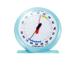 シンワ 温湿度計 丸型 Q-1 15cmライトブルー <70494> おしゃれ デジタル 高精度 赤ちゃん 時計 エンペックス バックライト 価格 u3