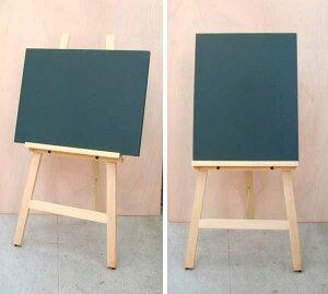 木製イーゼル☆白木☆黒板と一緒に・・!【スタンド黒板】