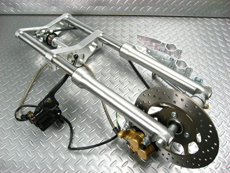 モンキー31パイフロントディスクステンレスメッシュホースNO1231