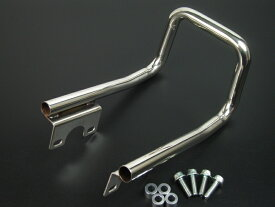 【ミニモト】ステンレス製 4L モンキー テールランプ用グラブバー カスタムパーツ NO1520