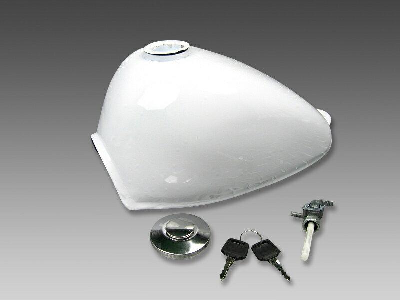 モンキー燃料タンクホワイトNO1567