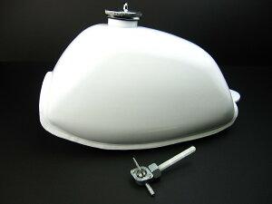 【ミニモト】4Lモンキー 燃料タンク ホワイト(4Lフレーム用) カスタムパーツ NO2618