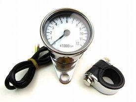 【あす楽】タコメーター 12000RPM表示 φ60 ディスプレィ カスタムパーツ NO0994