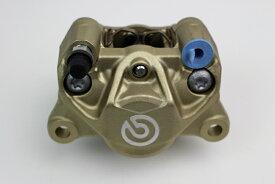 【あす楽】ブレンボキャリパーP2 34 84mmゴールド新カニ カスタムパーツ NO4995