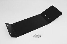 【あす楽】モンキー アルミ製 ロングフェンダープレートブラック カスタムパーツ NO5052