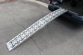 【ミニモト】汎用モーターサイクル用 アルミ製 ロングスロープ 折り畳み式 カスタムパーツ NO5117