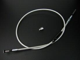 【あす楽】160cc用 クラッチケーブル 交換 互換 900mmメッシュ カスタムパーツ NO4112