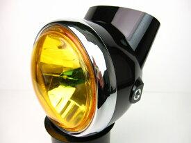 【あす楽】6Vダックス マルチリフレクターレンズ イエローセットブラック カスタムパーツ NO4250