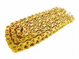 【あす楽】モンキー 強化チェーン タイプDX 420-120L ゴールド カスタムパーツ NO4710