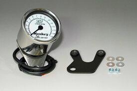 【あす楽】モンキー スペシャルタコメーター15000RPM表示 ホワイト カスタムパーツ NO5922