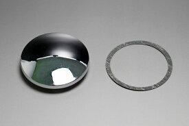 【あす楽】カムスプロケットカバー φ72mm クロームメッキ カスタムパーツ NO6365