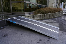 台車・車椅子・バイク用段差解消スロープ182cm滑り抑制仕様NO6575
