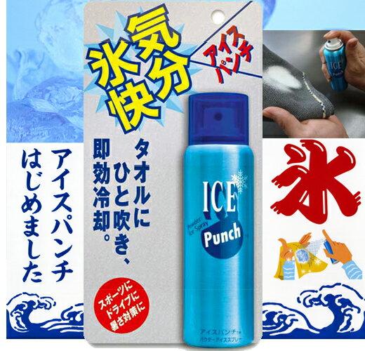 【瞬間氷結】 暑さ対策の必需品! クレ アイスパンチ♪