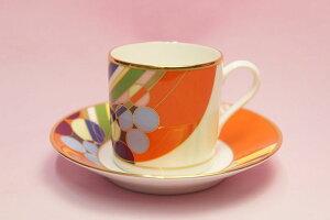 コーヒー碗皿◆マーチバルーンズ【フランク・ロイド・ライト デザイン テーブルウェア】(ノリタケWT59881/4947)