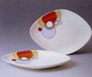 菱形ケーキ皿ペアセット◆フランク・ロイド・ライト デザイン テーブルウェア(ノリタケP97248/4614)