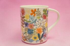 Flowers マグカップ(白)