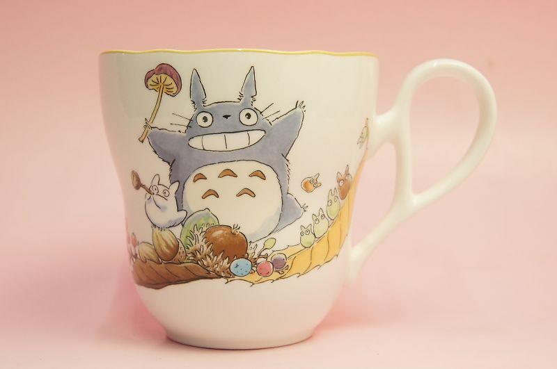 となりのトトロ マグカップ(収穫)◆ノリタケボーンチャイナ・TT97855/4924-3