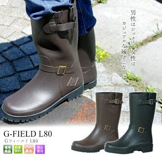 Midsummer all-season ♪ rain boots Greenfield L80 light and durable