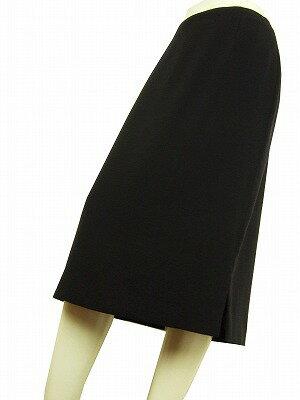 【中古】 ジャンフランコフェレ イタリア製 紺系 美形スカート 42 レディース